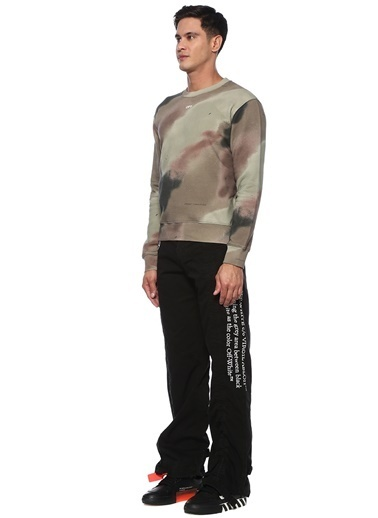 Off-White Sweatshirt Haki